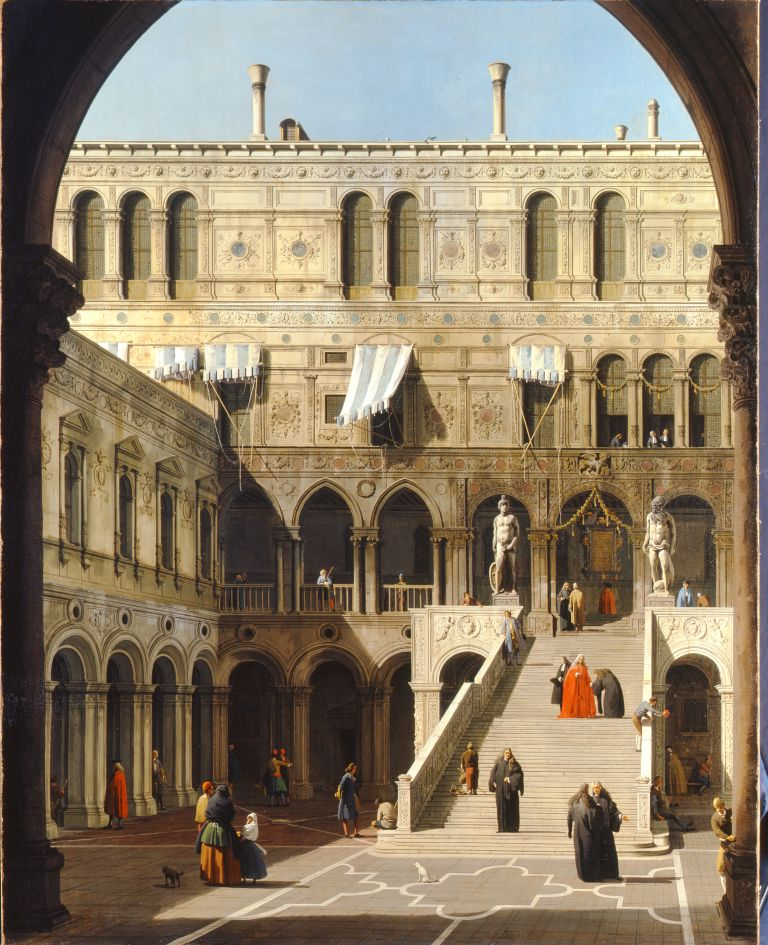 CANALETTO : designer of 3D effect