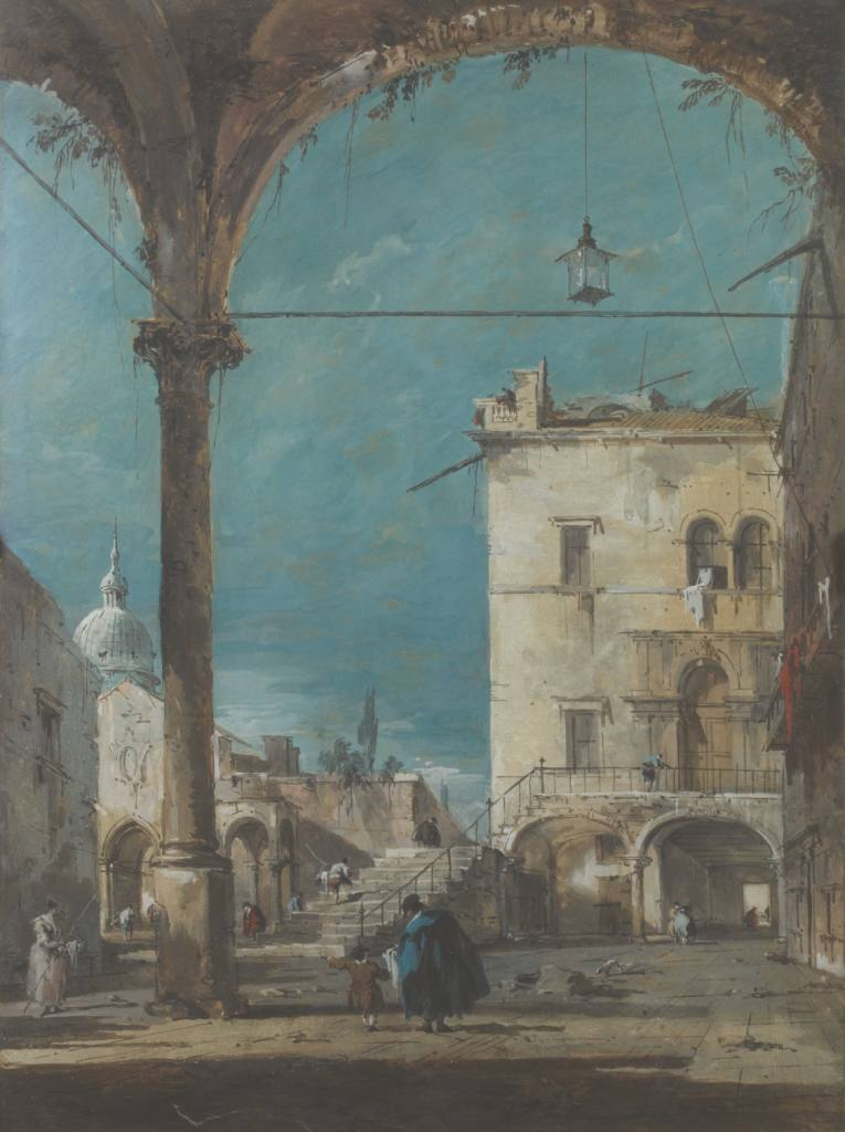 Canaletto and Guardi : two Venitian masters in the Jacquemart-André Museum