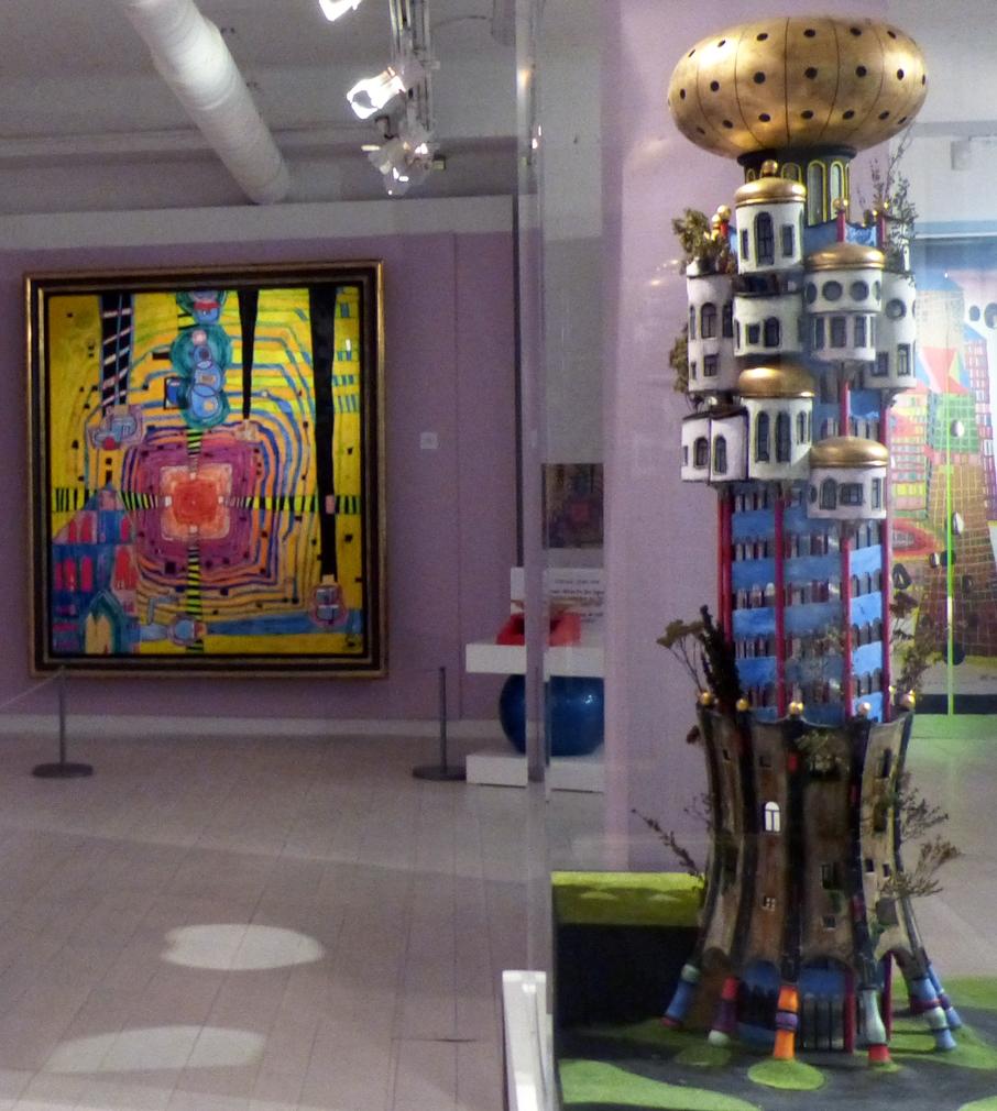 Le Musée en Herbe : un musée haut en couleur. A l'affiche : Hundertwasser