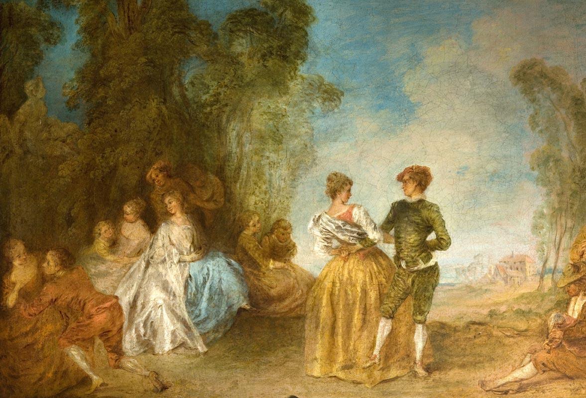 Les Fêtes Galantes sont au Musée Jacquemart André